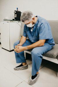 Hoffnungslosigkeit im Krankenhaus