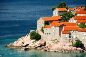 Montenegro Rote Häuser
