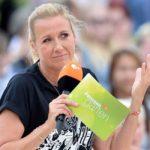 ZDF Fernsehgarten Andrea Kiewel platzt