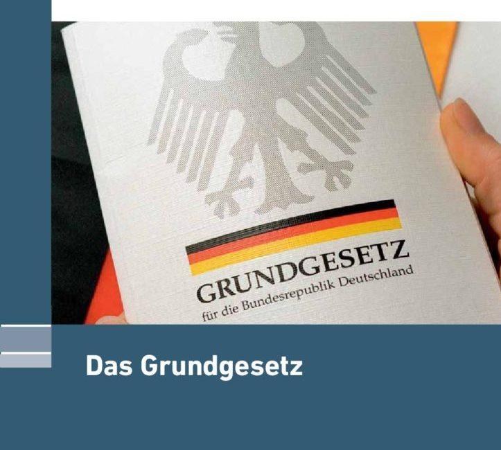 Das Grundgesetz zum Download als PDF