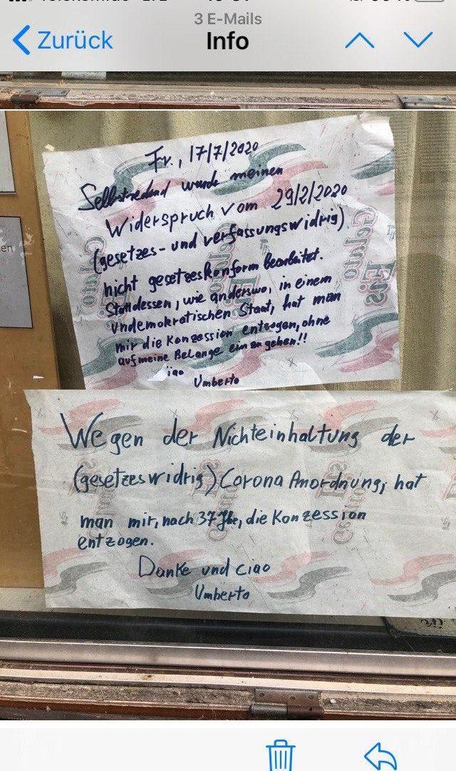 Eiscafe Capri verliert Konzession