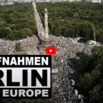 29 August 2020 Luftaufnahmen, Berlin, Demonstration Querdenken Videocesar