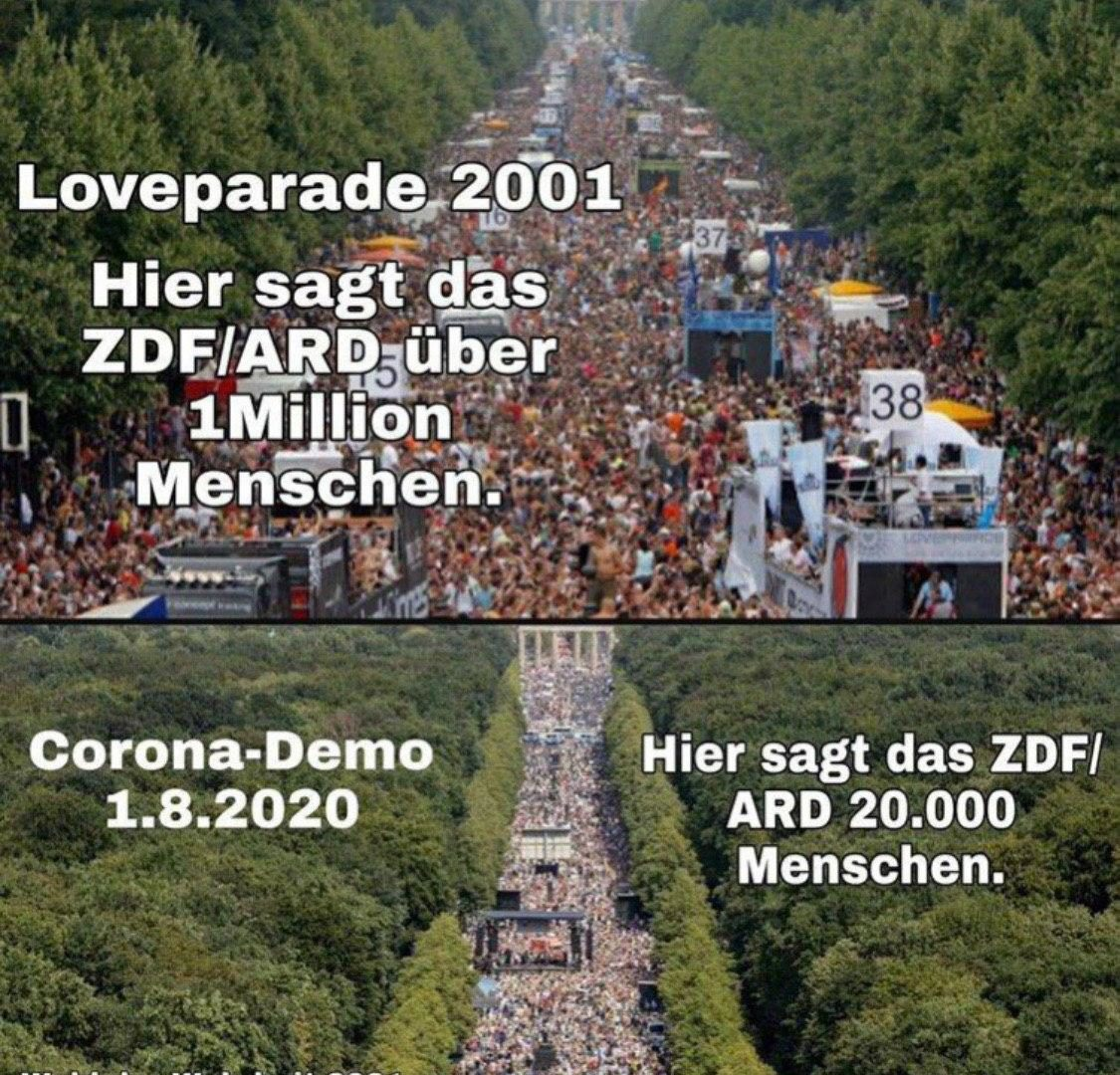 Großdemonstration Berlin 1 August 2020