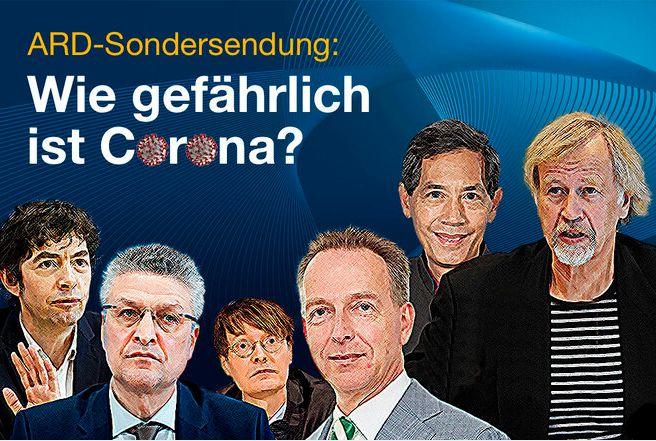 """Petition für eine Sondersendung der ARD zum Thema """"Wie gefählich ist Corona"""""""