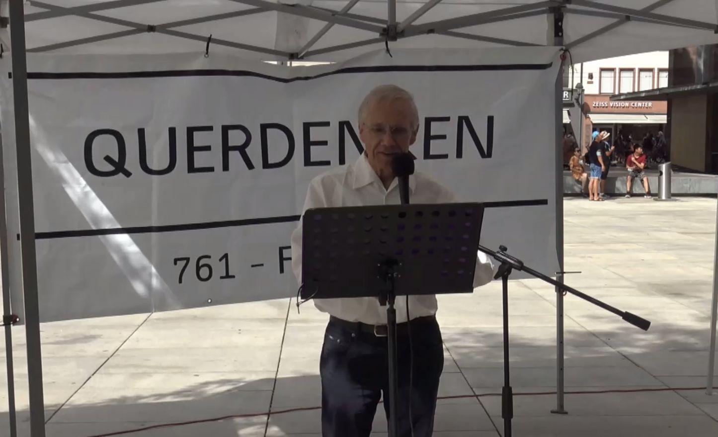 Dr. Thomas Külken Rede von Querdenken-761 vom 22.08.2020 Freiburg-City
