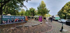 Mal beim Protestcamp neben dem Kanzleramt von Dirk Scheller vorbei geschaut